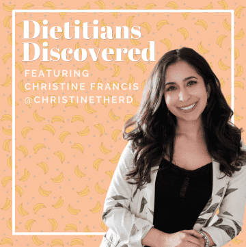 christine francis dietitians discovered